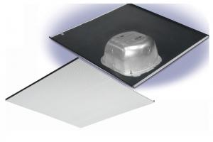 2X2FG-IC670V10: 70 Volts In-ceiling Speaker on a 2X2 Full Grill with Backcan