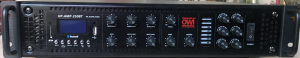 HP-AMP-250BT - 250 WATT 6 SOURCE PLUS BLUETOOTH AMPLIFIER * 6 ZONE OPTION * 70 VOLT AND 8 OHMS