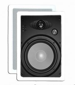 In Wall Speakers: 3-way Aluminum